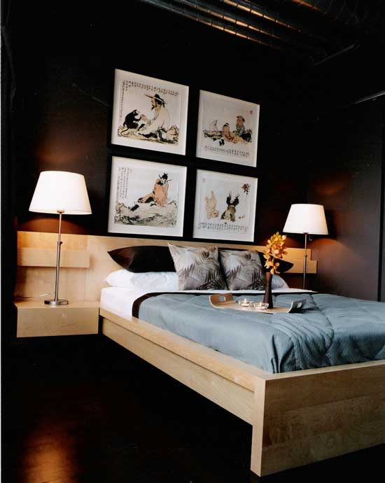 Stewart Street Master Bedroom